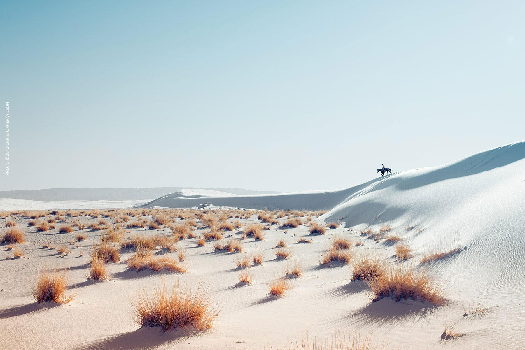 CowboyOnDune-PhotoChristopherWilson