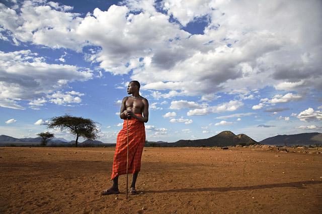 Image © Scott Stulberg - Massai Tribesman