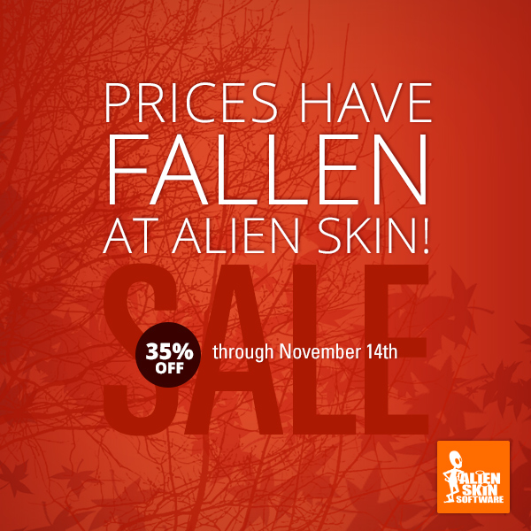 Fall 2014 Sale - 35% Off