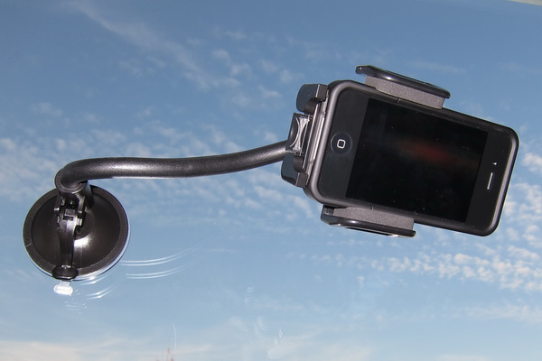 Kensington suction cup mount for mobile devices