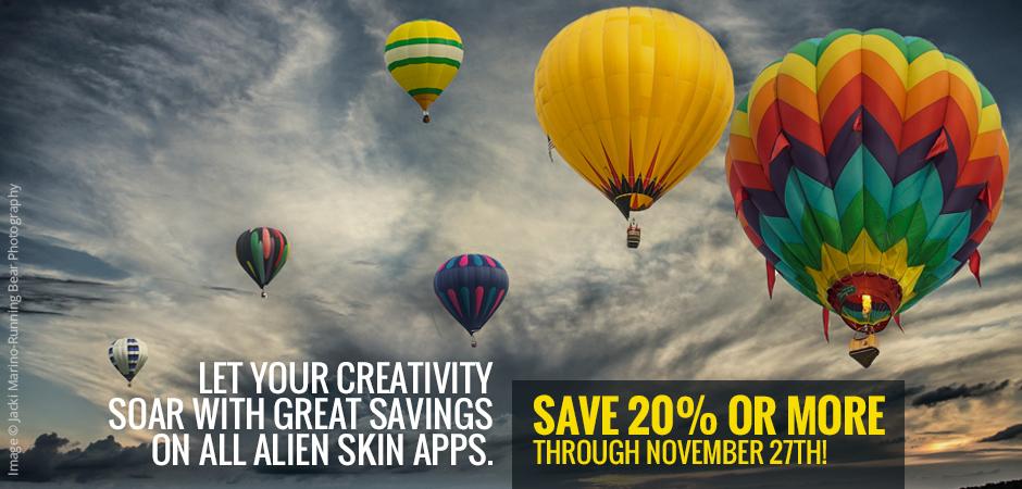 Save 20% or more through November 27th