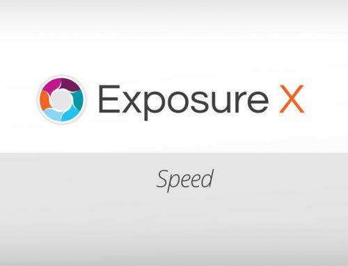 Exposure X Sneak Peek: Speed