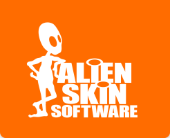 Alien Skin Software Retina Logo